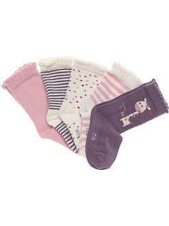 Set 5 paia calzini