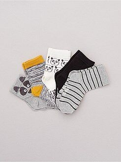 Calze, collant - Set 5 paia calzini motivi fantasia