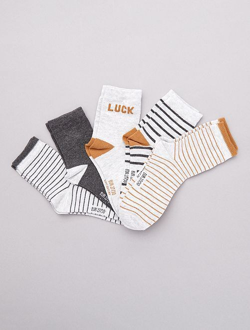 Set 5 paia calzini                                         nero