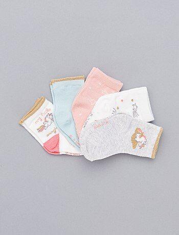 7734e8731b Saldi calze in cotone, colorate, con motivi e fantasie Neonati bebe ...