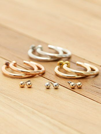Set 6 orecchini - Kiabi