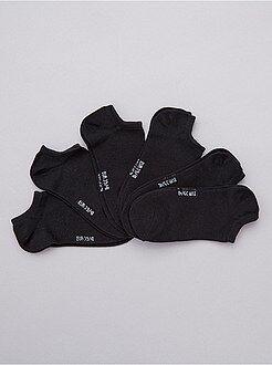 Set 6 paia calzini alla caviglia
