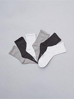Intimo dalla S alla XXL - Set 6 paia calzini - Kiabi