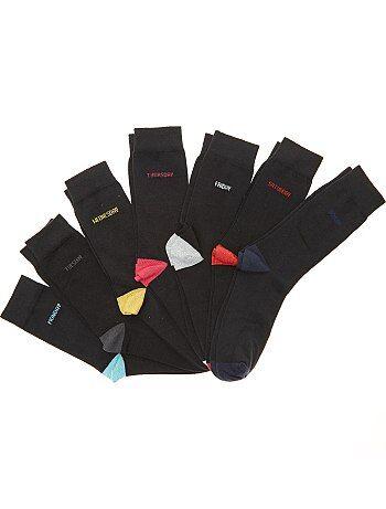 Set 7 paia calzini giorni della settimana - Kiabi