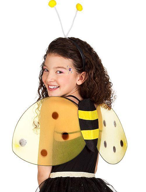 Set ali + cerchietto animale                                         ape
