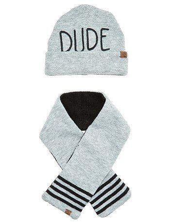 Set berretto e sciarpa - Kiabi