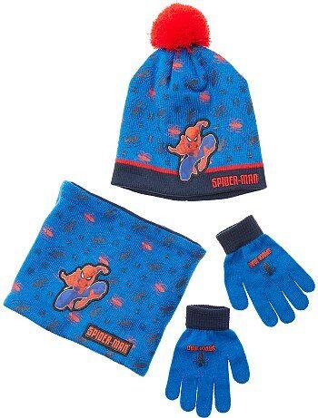 Set berretto + guanti + sciarpa snood  Spider-Man  - Kiabi 69adc72daedd