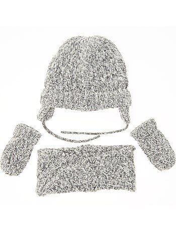 Set berretto + sciarpa snood + muffole - Kiabi