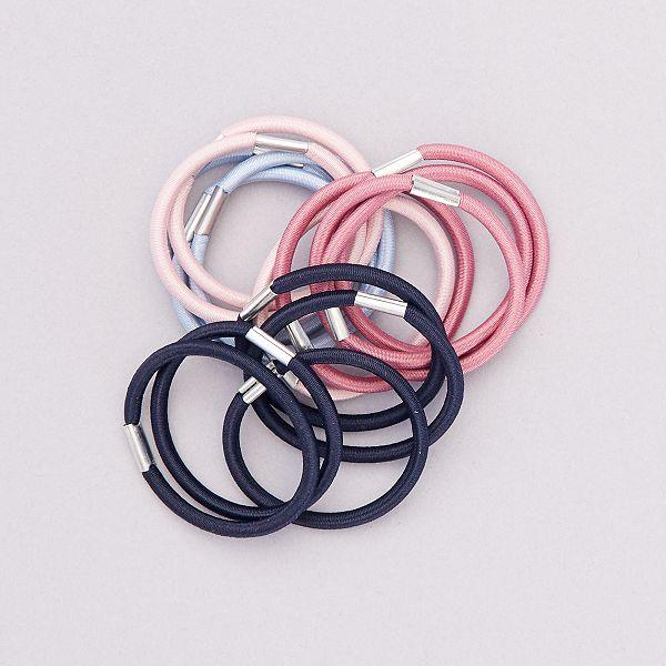 Set di 15 elastici per capelli Donna - GRIGIO - Kiabi - 1,50€