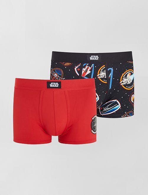 Set di 2 boxer 'Star Wars'                             NERO
