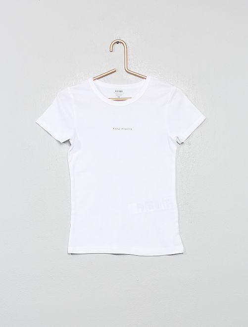 Set di 2 magliette intime 'eco-sostenibili'                                         BIANCO