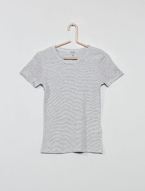 Set di 2 magliette intime eco-sostenibili                                         BIANCO
