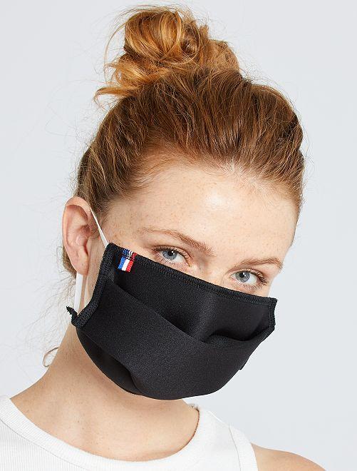 Set di 2 mascherine protettive per adulti categoria 2                             nero
