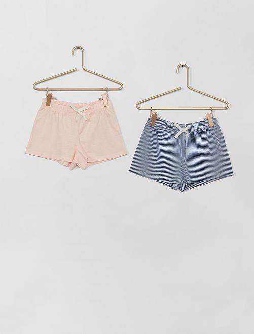 Set di 2 shorts                                                                                         BLU
