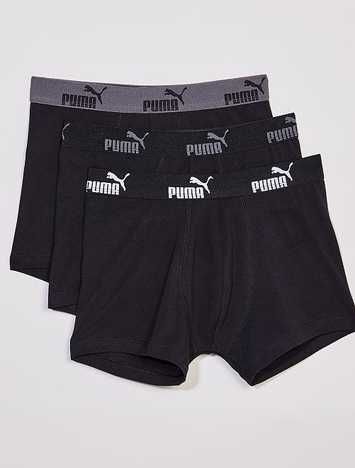 Set di 3 boxer 'Puma'                                                                 NERO