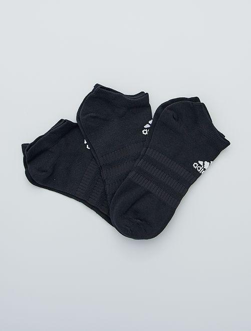 Set di 3 paia di calzini 'adidas'                                         NERO