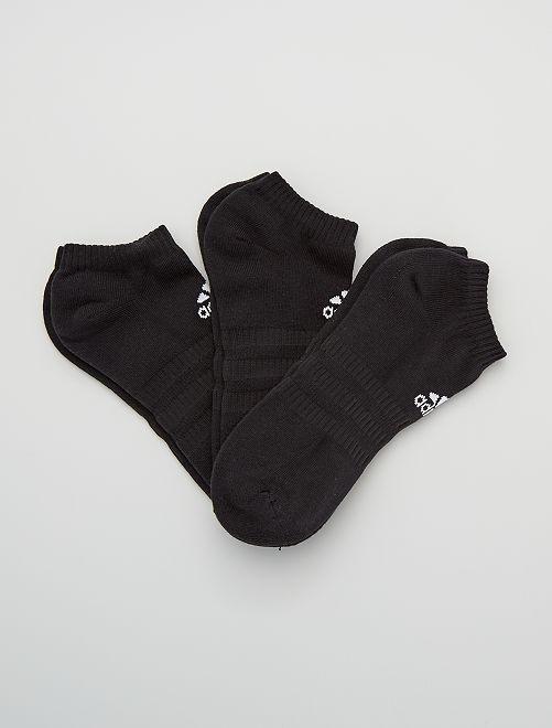 Set di 3 paia di calzini bassi 'adidas'                                                                                                                 BEIGE