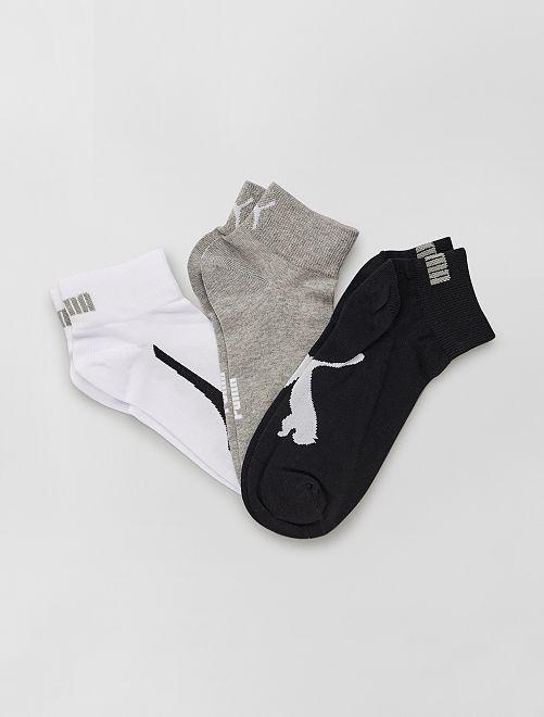 Set di 3 paia di calzini 'Puma'                                         BIANCO