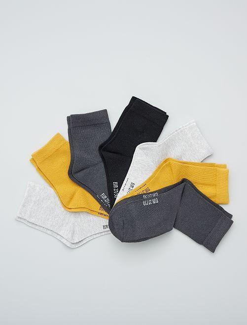 Set di 7 paia di calzini                                         BIANCO