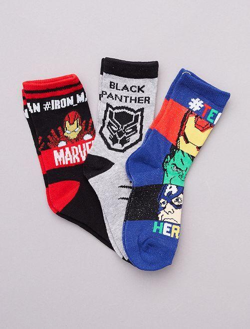 Set di calzini 'Avengers' 'Marvel'                                         blu