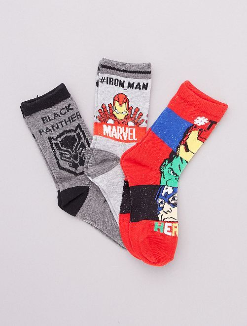 Set di calzini 'Avengers' 'Marvel'                                         rosso