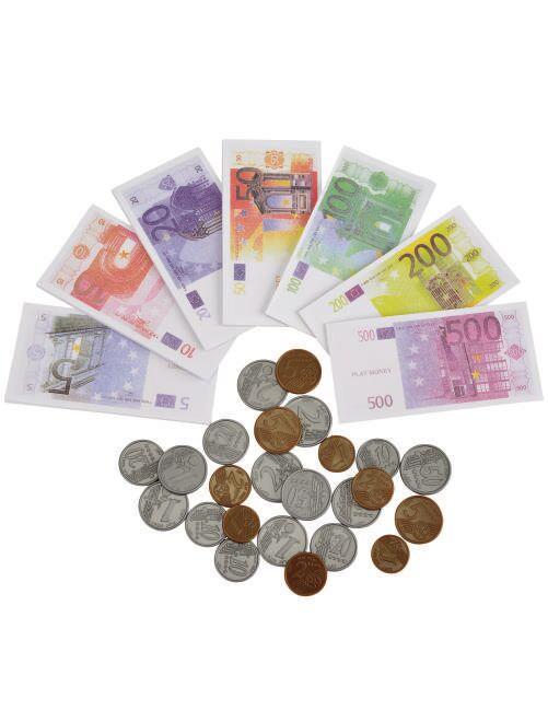 Set di monete e banconote                             bianco Infanzia bambina