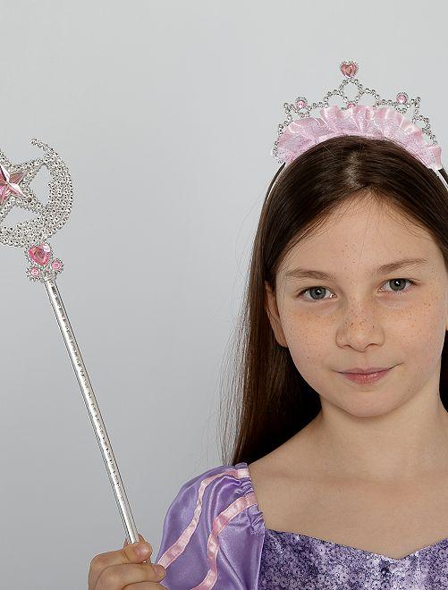 Set diadema + bacchetta principessa                             GRIGIO