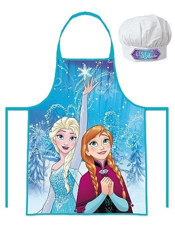 Set grembiule + cappello da cuoco 'Frozen - Il regno di ghiaccio' - Kiabi