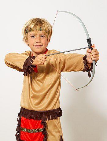 Set indiano arco con frecce e coltello - Kiabi
