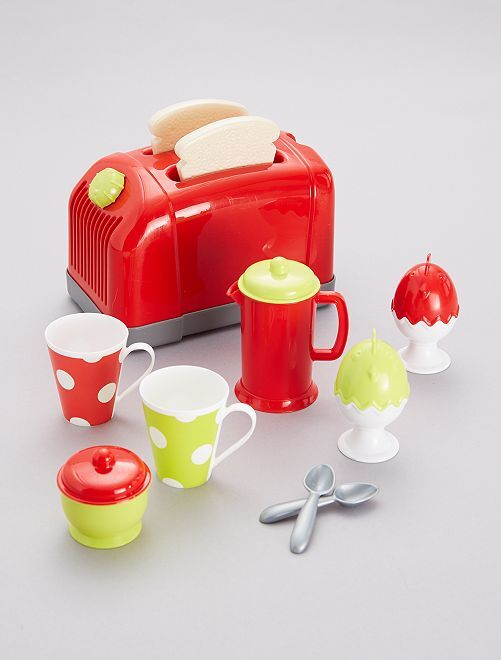 Set tostapane e accessori                             ROSSO Infanzia bambina