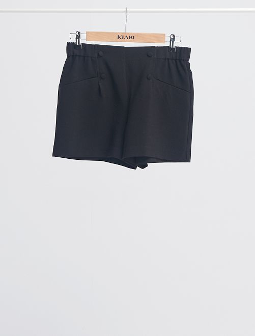 Shorts alla marinara                                                     nero