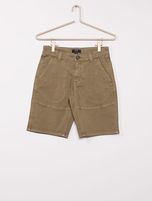 Shorts chino                                         KAKI