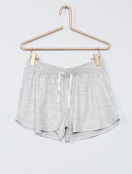 Shorts del pigiama in jersey -                                         GRIGIO
