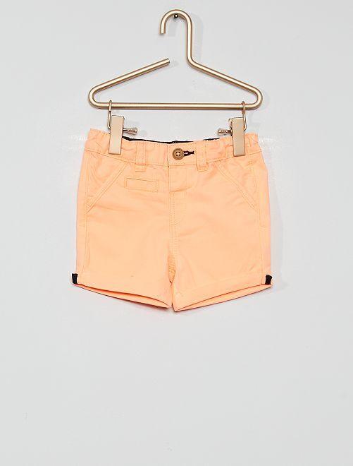 Shorts eco-sostenibili                                                                                                                 arancione fluorescente