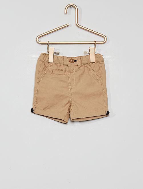 Shorts eco-sostenibili                                                                                                                             BEIGE