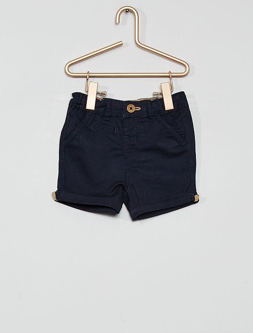 Shorts eco-sostenibili                                                                                                                 blu
