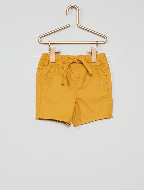 Shorts eco-sostenibili                                                                 GIALLO