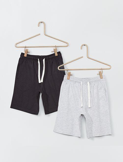 Shorts in jersey                                         GRIGIO