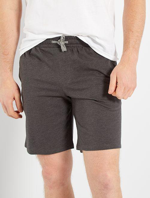 Shorts in maglia jersey                                         GRIGIO