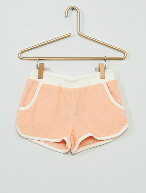 Shorts in spugna                                                                 ROSA