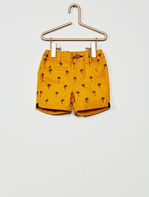 Shorts in twill                                         GIALLO