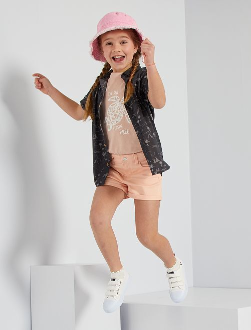 Shorts in twill                                                                                         ROSA