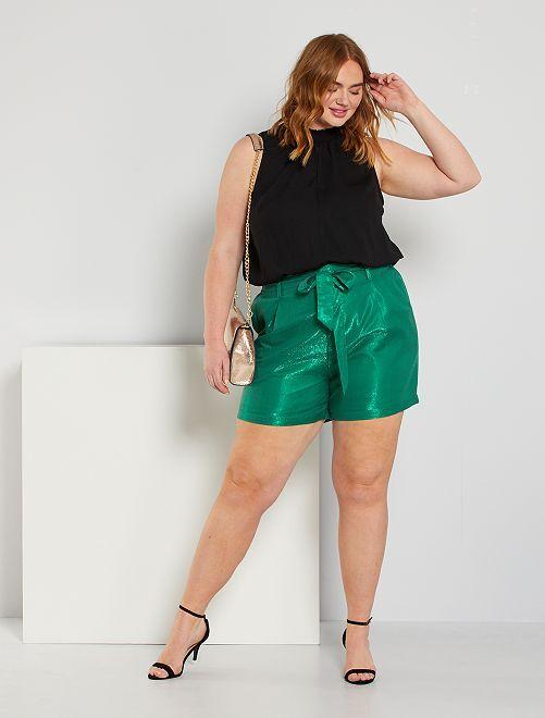 Shorts lucidi                             verde pino