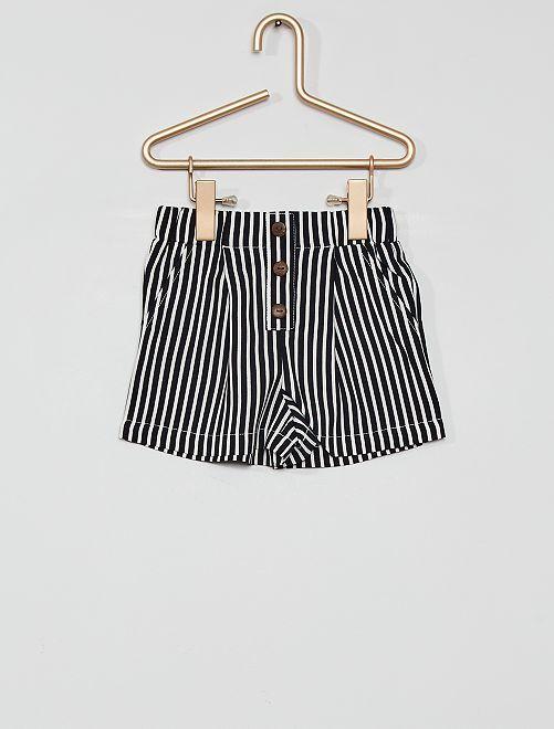 Shorts morbidi                                         BIANCO