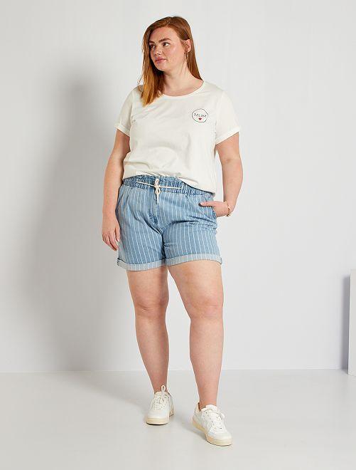 Shorts paper bag                                                                 BLU