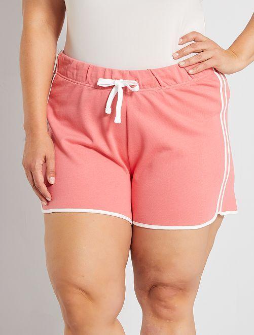 Shorts sportivi ecosostenibili                                                     rosa