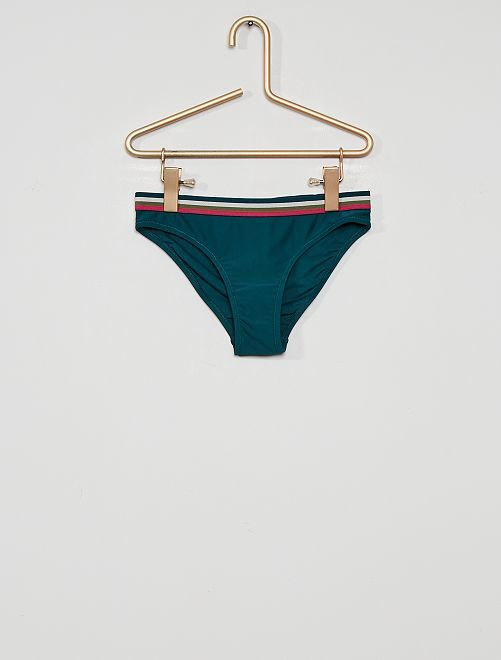 Slip bikini                             VERDE