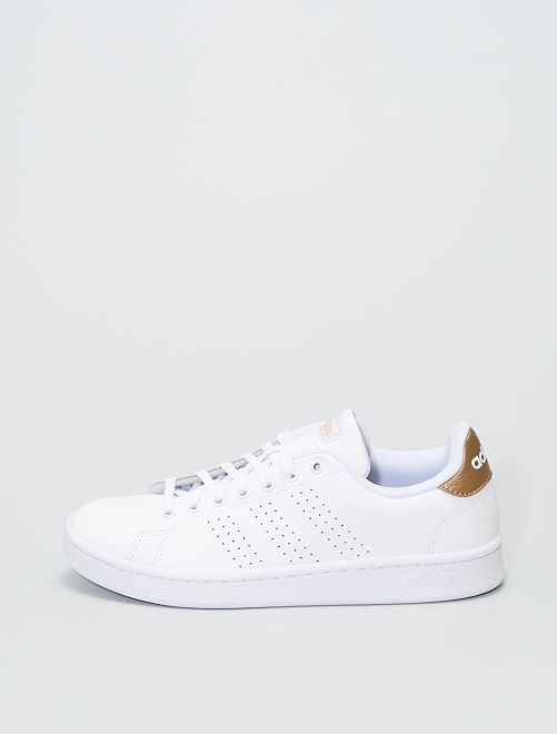 Sneakers 'adidas' in similpelle                             BIANCO