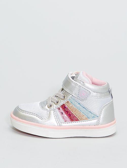 Sneakers alte 'arcobaleno'                             BEIGE