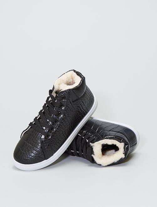 Sneakers alte                             nero